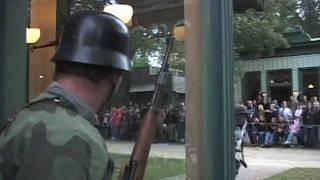 getlinkyoutube.com-WW2 Battle in Colour - America vs NAZI Germany, RE-ENACTMENT 2011