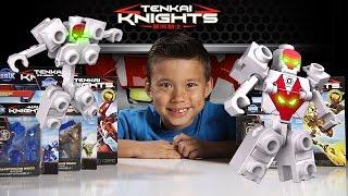 getlinkyoutube.com-TENKAI KNIGHTS - Ionix Mini Figures & Titan Figures! Review & Unboxing [EvanTubeHD CLASSIC WEEK]