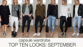 getlinkyoutube.com-Capsule wardrobe - Top ten looks: September (scandinavian climate)
