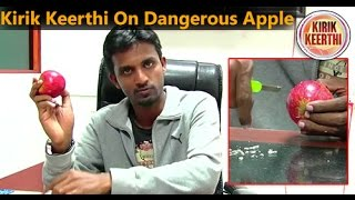 Kirik Keerthi on Dangerous apple...!