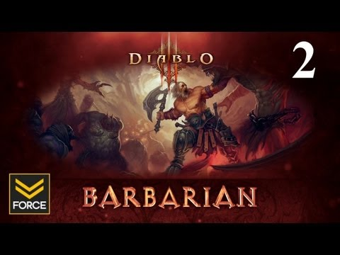 Diablo 3 Beta - Barbarian Gameplay (Commentary) Part 2