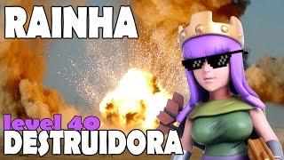 getlinkyoutube.com-RAINHA ARQUEIRA LEVEL 40 DESTRÓI UMA VILA?