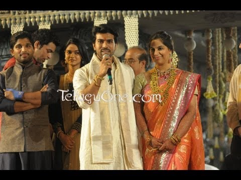 Ram Charan - Upasana - Wedding Reception For Mega Fans - 03