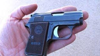 getlinkyoutube.com-Astra Cub .22 short - Shooting & Field Stripping This Great Pistol
