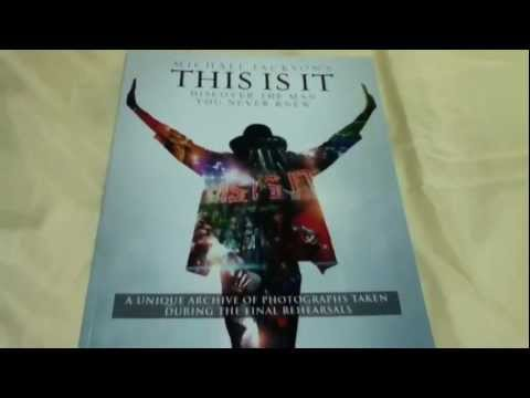 Michael Jackson This Is It Show Program