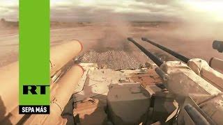 getlinkyoutube.com-Tanques vs 'terroristas': El espectáculo militar ruso sin precedentes