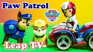 getlinkyoutube.com-PAW PATROL Nickelodeon Paw Patrol Leap TV Chase Game a Paw Patrol Video Toy Review