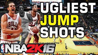 getlinkyoutube.com-NBA 2K16 Ugliest Jump Shots
