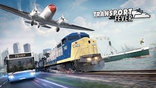 Transport Fever - Bejelentés Trailer