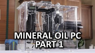 getlinkyoutube.com-Mineral Oil Submerged PC Build Log Part 1 - Puget Systems Kit Case Assembly