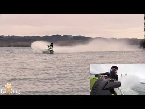 Stock 2017 Seadoo RXP-X 300 Race Sponsons Test On Closed Course, Lake Havasu City