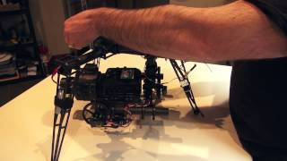 Quadrocopter Tutorial - Mounting the Sony FS700