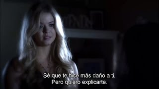 "getlinkyoutube.com-Pretty Little Liars - Alison DiLaurentis and Emily Fields SUBTITULADO 4x15 ""Love ShAck, Baby!"""