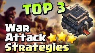 getlinkyoutube.com-(2017) TOP 3 TH9 BEST WAR ATTACK STRATEGIES! | Clash of Clans