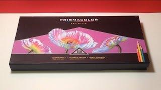 getlinkyoutube.com-Prismacolor premier 150 set unboxing
