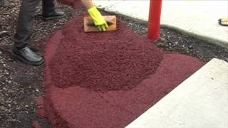 getlinkyoutube.com-Wetpour Basics - How To Lay Rubber Wetpour