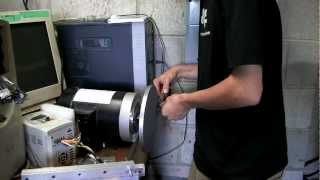 getlinkyoutube.com-Making a disc sander