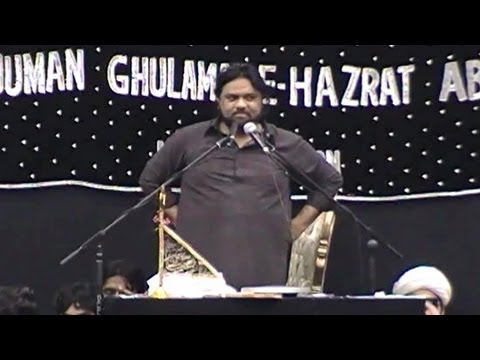 Zakir Shaukat Raza Shaukat of Multan | AGHA Northampton, UK (05/05/2013)