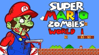 getlinkyoutube.com-SUPER MARIO ZOMBIE MAP: WORLD 1 (Call of Duty: Zombies)