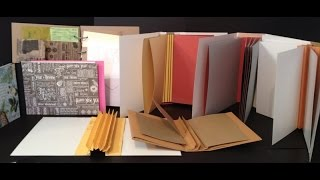 getlinkyoutube.com-How to make hinges, spines and binding for mini albums and journals