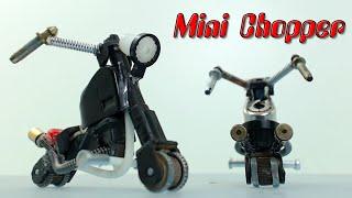 getlinkyoutube.com-Minimoto Chopper con encendedores, cómo se hace