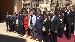 SS.MM. los Reyes, con los Premios Nacionales de Cultura 2016