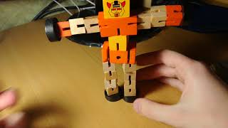 Educational Wooden Robot Toy from GearBest.com