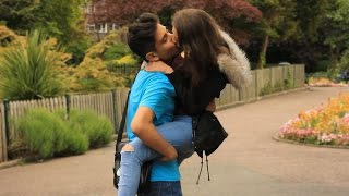 getlinkyoutube.com-Kissing Prank 💋 Top 5 Kissing Prank 💋 Best Funny Kissing Pranks 2016