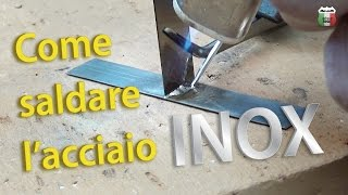 getlinkyoutube.com-Saldare l'acciaio inox (senza saldatrice) | Castolin 157