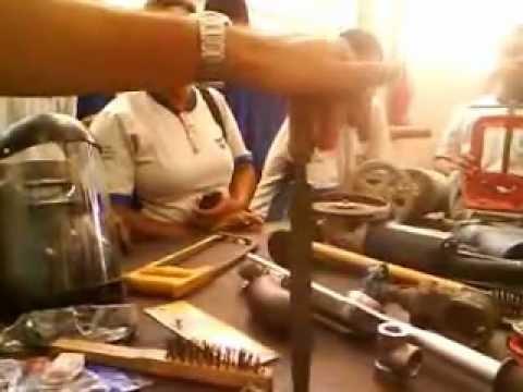 Vídeo aula de caldeireiro tubulações