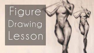getlinkyoutube.com-Figure Drawing Lesson (Draw Along: Febuary 16th, 2016)