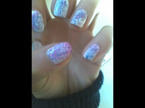 Video nail art: Tecnica a spruzzo