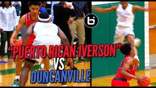 "getlinkyoutube.com-""PUERTO RICAN IVERSON"" VS Duncanville! Ballislife South Game Of The Year?"