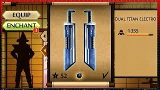 getlinkyoutube.com-Shadow Fight 2 New Dual Titan's Electro Sword