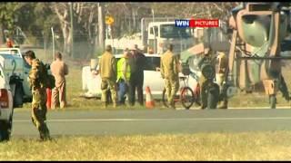 getlinkyoutube.com-Peace activist disarms helicopter Rockhampton airport