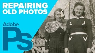 getlinkyoutube.com-How to Repair Old Photos in Photoshop (4K)