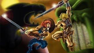 getlinkyoutube.com-Grudge Match Unlimited 4: He-Man vs Lion-O