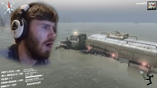 getlinkyoutube.com-Spin Tires Tomcat vs The Flood | ALMOST DROWNED!