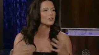 getlinkyoutube.com-Bridget Regan on Jimmy Kimmel