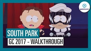 South Park: The Fractured but Whole - Gamescom 2017 Gameplay Walkthrough