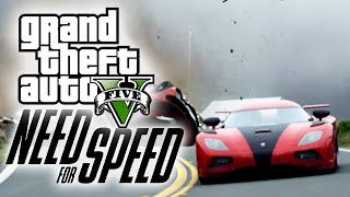 "GTA 5 ""NEED FOR SPEED"" TRAILER PARODY!"