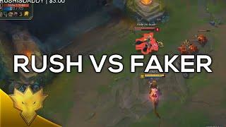 Rush vs. Faker –韓服單排精選片段