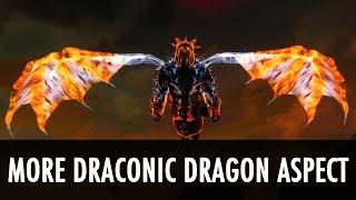 getlinkyoutube.com-Skyrim Mod: More Draconic Dragon Aspect