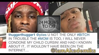 """getlinkyoutube.com-Plies Changes Caption Calling Young Thug Daughter a """"BIH"""" But Leaves Video Up."""
