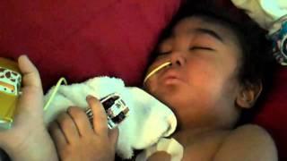 getlinkyoutube.com-Hunter's Last Video.....his last wiggle...his last smile. (AML Leukemia) HealingHunter.com