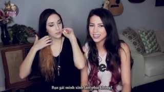 [Vietsub] GIRLFRIEND TAG - Stevie and Ally