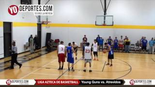 Young Guns vs. Atrevidos Liga Azteca de Basketball