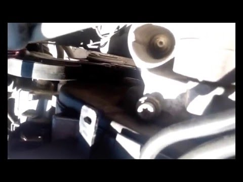 Замена ремня генератора и ролика 2.0hdi