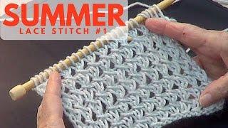 getlinkyoutube.com-Summer Lace Stitch #1
