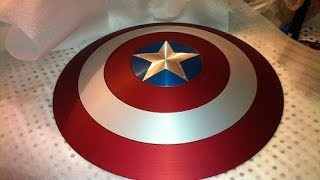 getlinkyoutube.com-Captain America Shield: DIY Tutorial